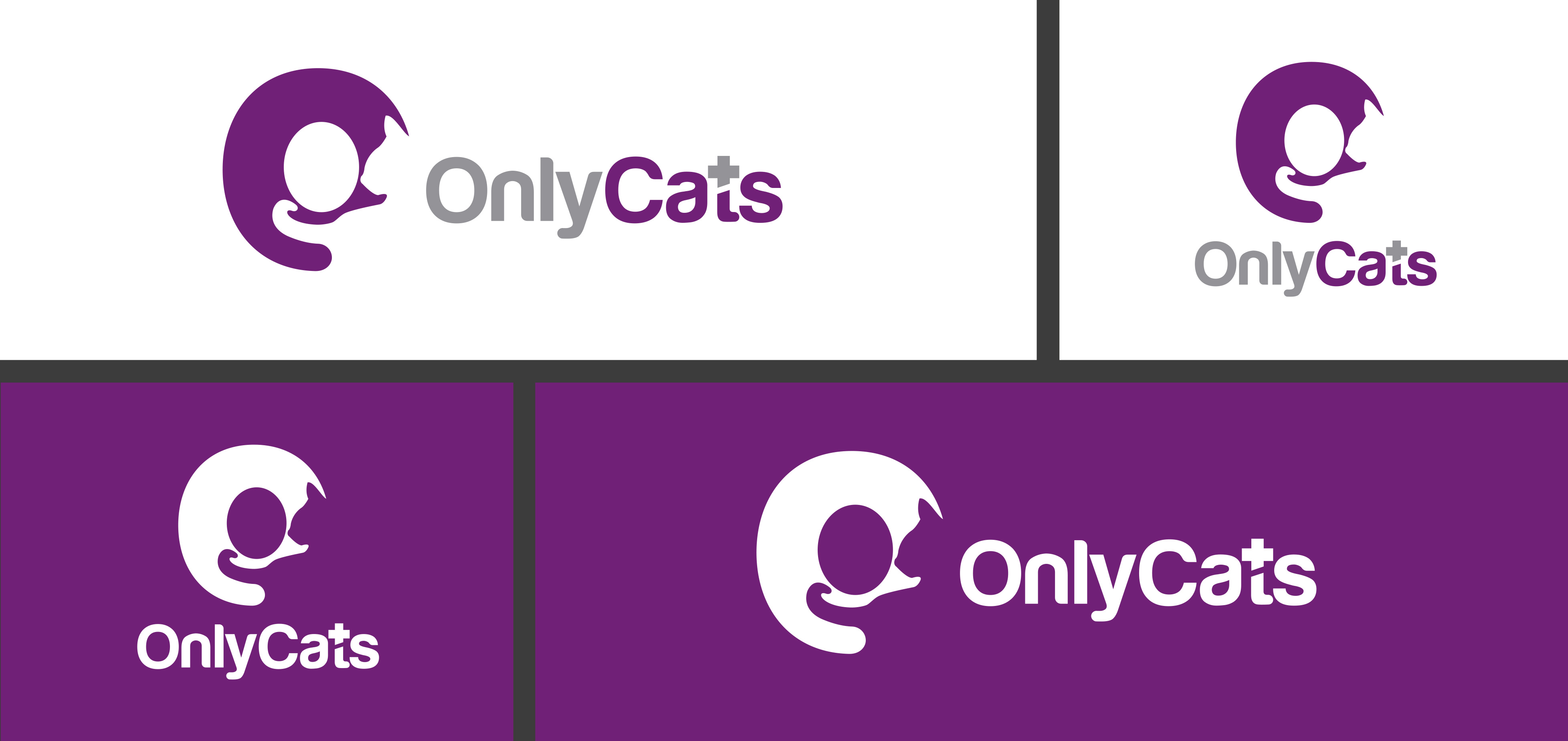 onlycats Logotipo